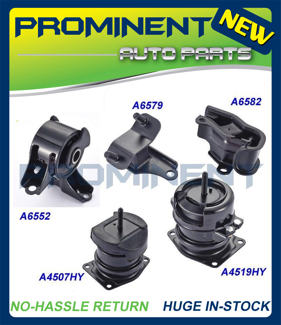 For 2007-2008 Acura TL Type-S Sedan 3.5L FWD Engine Motor /& Trans Mount 5PCS