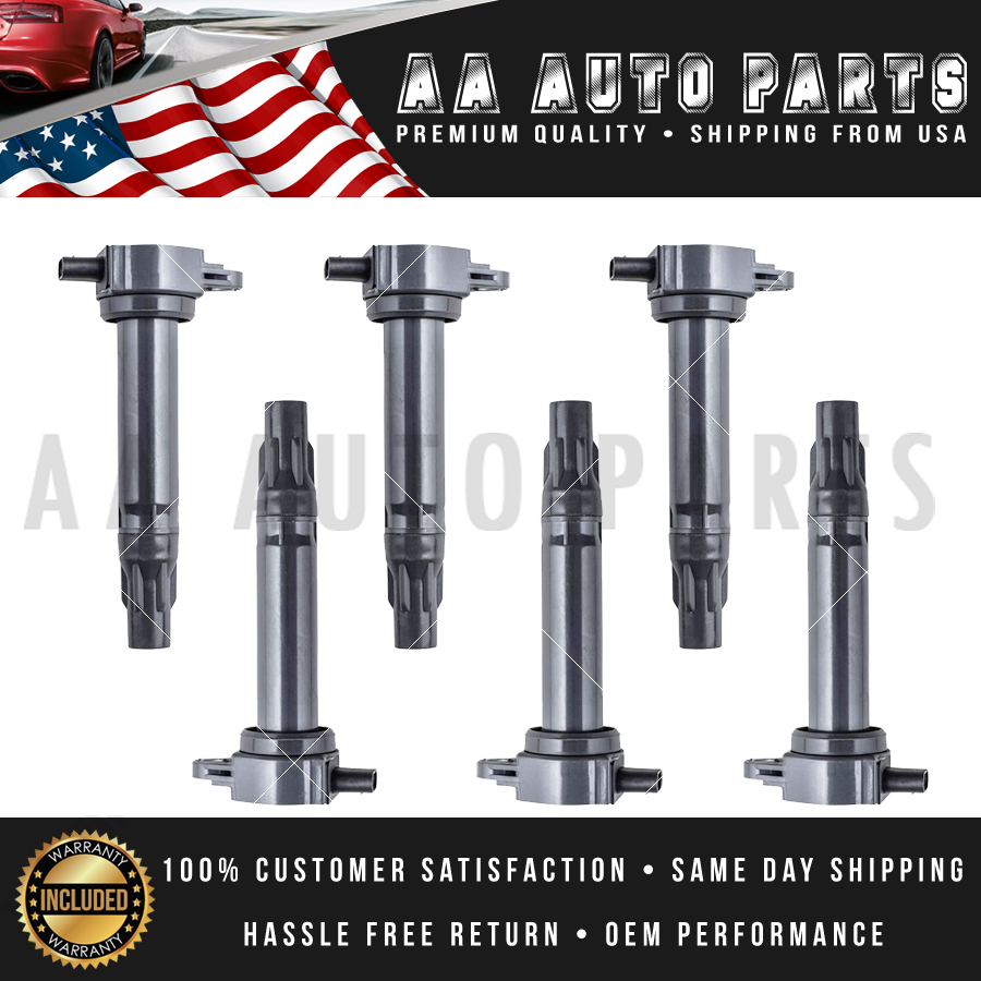 OEM Quality Ignition Coil 6PCS Set for Sebring 300 Pacifica// Charger// Routan V6